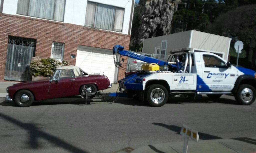 Can You Tow A Car Parked On Private Property
