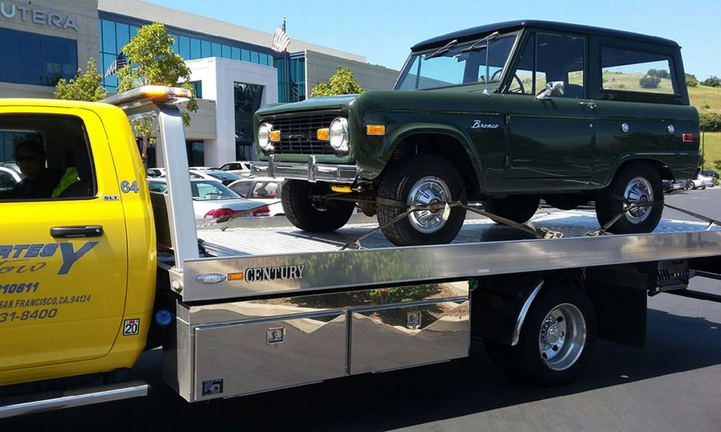 Courtesy Tow Private Property Towing