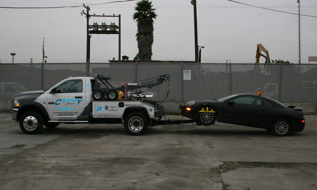 Courtesy Tow | Private Property Towing